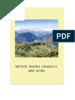 Ghid Turistic Muntii Piatra Craiului