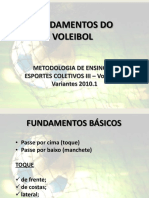 Fundamentos Do Voleibol