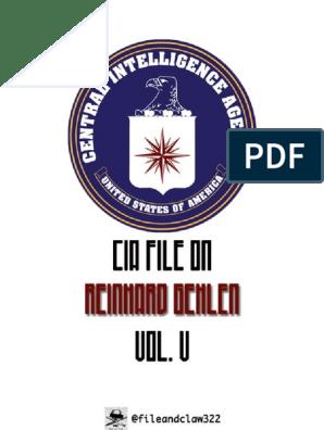 GEHLEN Reinhard CIA File VOL 5   Violence   Unrest