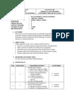 Lesson Plan CHE 604 Sept 2014 (1) Plant Design