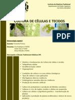 Cultura de Células e Tecidos