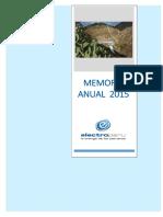 Memoria Anual Electroperú 2015