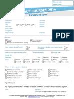 Enrolment Form 2016