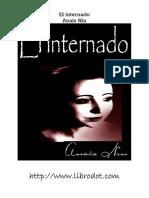 El Internado- Anais Nin