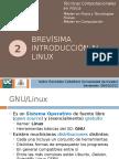 2 - Brevísima Introducción Al Linux