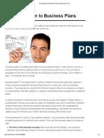 33. an Introduction to Business Plans _ Entrepreneur