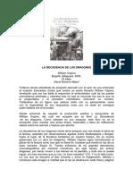 La Decadencia de Los Dragones-william Ospina
