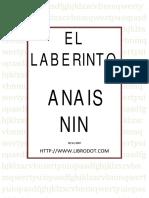 I - El Laberinto- Anais Nin