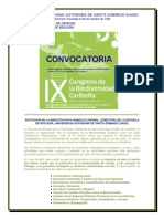 IX CBDC - Convocatoria Feb