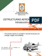 Introduccion Estructuras Aeronauticas 2016-1