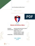 Modelo Economico Mixto Monografia