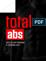 Total Abs Workout DAREBEE