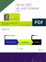 Windows Server2016 NanoServer