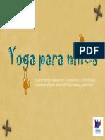 Dossier Yoga Para Niños