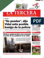 Diario La Tercera 31.03.2016