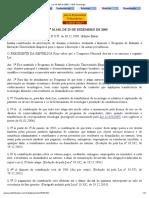 Contribuição de Intervenção de Domínio Econômico - Lei 10.168