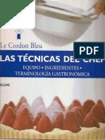 34851669 Las Tecnicas Del Chef Le Cordon Bleu