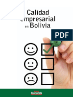 Calidad Empresarial en Bolivia