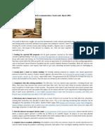 Academic publishing and scholarly communications