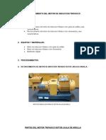 Motor de Induccion Maquinas Electricas