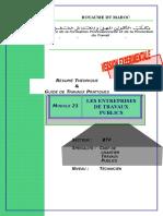 Module 21 Les Entreprises de Travaux Publics-BTP-TCCTP
