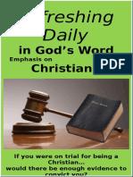 Christians April 2016