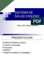 Sistema Salud Chileno 2015