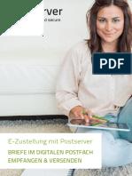 Postserver Broschüre 2016