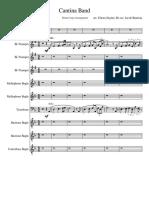 Cantina Band - Drum Corps Arrangement