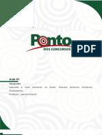 Aula 01 - Natureza e Meio Ambiente No Brasil