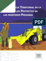 Presencia de Mineria en Fronteras