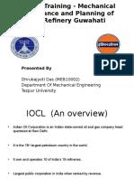 Internship Presentation Indian oil(IOCL)