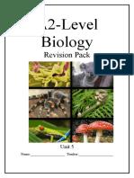 Unit 5 Biology Notes