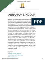 Abraham Lincoln - U.S. Presidents - HISTORY