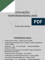Aula 4 Desordens Temporomandibulares