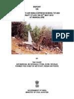AIX Aircraft Accident Report