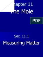 Chemistry Chapter 11 the Mole