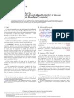D1481-12 Densidad y Densidad Relativa