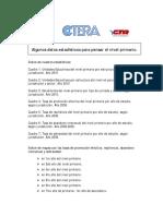 IIPMV y CTERA Algunos Datos Estadísticos
