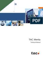 TAC Menta Technical Manual TAC Xenta 700 5.1.0