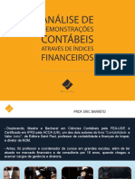 Analise de Demonstracoes Contabeis Atraves de Indices Financeiros