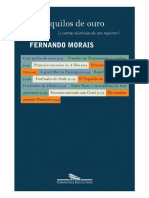 Cem Quilos de Ouro e Outras Historias de Um Reporter - Fernando Morais