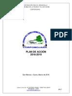 Documento Proyecto Plan de Acción Corpomojana 2016-2019