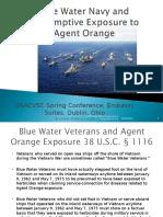 Blue Water Navy Training