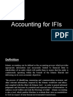 Accounting for IFIs