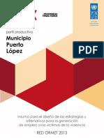 Perfil Productivo Puerto Lopez