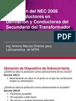 Aplicacion Del NEC 2008