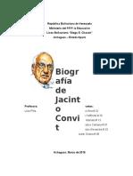 Biografia de Jacinto Convit