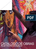 Catalogo de Obras Pilar Triviño Gonzalez. 2005 a 2015.