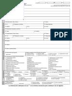 Formato de Registro Servicio Social